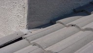 Improperly installed roof